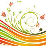 Floral design vector Royalty Free Stock Photo
