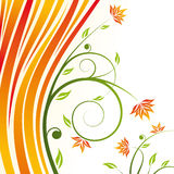 Floral design vector Stock Photography