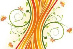 Floral design vector Royalty Free Stock Photos