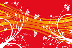 Floral design vector Royalty Free Stock Image
