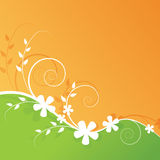 Floral design. Vector illustration. Floral design. Floral vector illustration Stock Photography