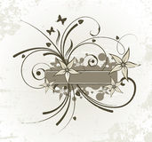 Floral design. Vector illustration. Floral design. Floral vector illustration Royalty Free Stock Photos