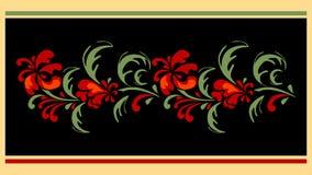 Floral designe for carpet Stock Photography