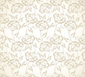 Floral designer seamless wallpaper with strokes Royalty Free Stock Photos