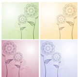 Floral Designs Stock Images
