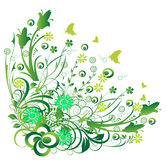 Floral designs Royalty Free Stock Image