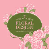 Floral designs background Stock Photos
