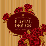 Floral designs background Royalty Free Stock Image