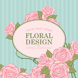 Floral designs with roses Stock Photography