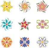 Floral dingbats Stock Image