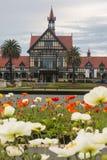 Floral display in Rotorua Stock Photo