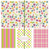 Seamless Background Patterns - Floral Ditsy Print Stock Image