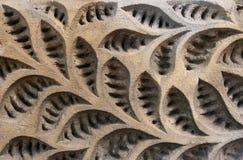 Floral do fundo feito da pedra Imagem de Stock Royalty Free