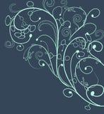 Floral doodle, floral texture Stock Images