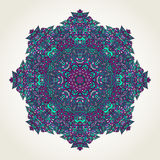 Floral doodle mandala Stock Photo