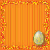 Floral Easter background Royalty Free Stock Images