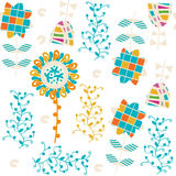 Floral elegance  seamless pattern. It is located in swatch menu, Stock Image