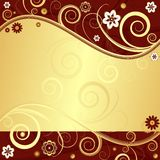 Floral  elegant background (vector) Stock Image