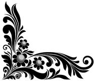 Floral element. Vector illustration, decorative floral element Royalty Free Stock Photography