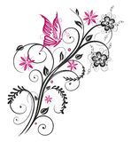 Floral element Royalty Free Stock Image