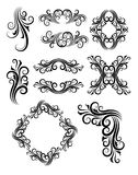 Floral Element Decorations Royalty Free Stock Image
