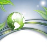 Floral environmental vector frame Royalty Free Stock Photos