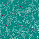 Floral ethnic seamless pattern Royalty Free Stock Photography