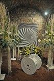 Floral exhibition in Gerona Stock Photo