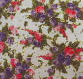 Floral Fabric Royalty Free Stock Image