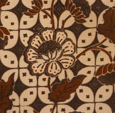 Floral Fabric. Detail of a floral cotton fabric design Stock Photos