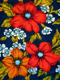 Floral fabric abstract Stock Images