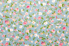 Floral fabric background Stock Images