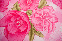 Floral Fabric Royalty Free Stock Photo