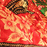 Floral fabric Stock Photo