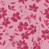 Floral fabric pattern royalty free stock photography