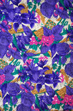 Floral Fabric Texture Stock Photography