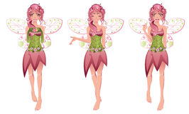 Floral Fairy Royalty Free Stock Image
