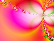 Floral fantasy. Unusual colorful background Stock Image