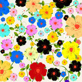 Floral fantasy background. Floral fantasy, background layout for cards or wrapping paper Stock Photography