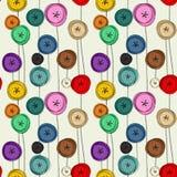 Floral fantasy doodles Stock Image