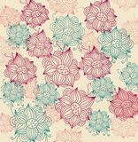 Floral fashion background Royalty Free Stock Photo