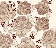 Floral fashion background Stock Photography