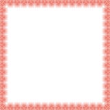 Floral Fine Frame. Classic frame with arabesques and orient elements. Abstract fine ornament Royalty Free Stock Image