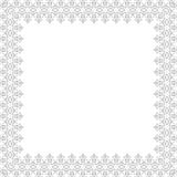 Floral  Fine Frame. Classic  frame with nice arabesques and orient elements. Abstract fine bright ornament Stock Images