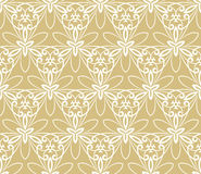 Floral Fine Seamless Pattern Stock Photos