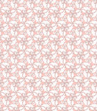 Floral Fine Seamless Pattern. Floral ornament. Seamless abstract fine pink and white pattern Stock Image