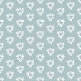 Floral Fine Seamless Vector Pattern. Floral vector light blue and white ornament. Seamless abstract classic fine pattern Stock Photos