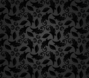 Floral Fine Seamless Vector Pattern Royalty Free Stock Photos