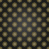 Floral Fine Seamless Vector Pattern Royalty Free Stock Images