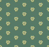 Floral Fine Seamless Vector Pattern. Floral vector ornament. Seamless abstract classic fine colorful pattern Royalty Free Stock Image